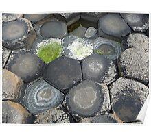 Giant's Causeway stones Poster