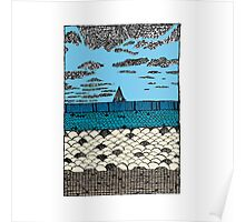 Crystal Cove Sailing Poster