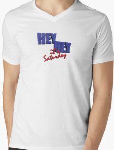 Hey Hey It's......Saturday?  Mens V-Neck T-Shirt