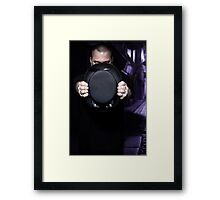 Under cover of the night Framed Print