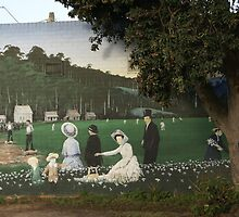 mural at Mirboo North Victoria by BronReid