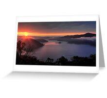Lake Eildon. Greeting Card