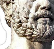 Aristotle the great philosopher Sticker