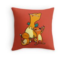 Number 4, 5 and 6 Throw Pillow