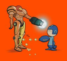 Samus Vs Mega by Aniforce