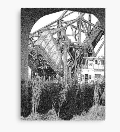 raised rails Canvas Print