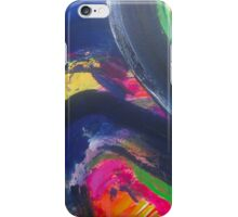 New Terrain modern abstract art print iPhone Case/Skin
