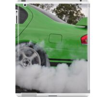 GT smoke screen iPad Case/Skin