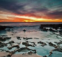 North Beach Last Light by Jonathan Stacey