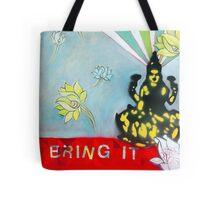 Bring IT Lakshmi goddess of Abundance Spiritual Art Tote Bag