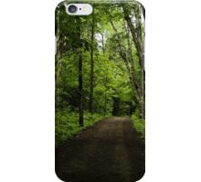 Summer Forest Tranquility - Beautiful Charlevoix, Quebec, Canada iPhone Case/Skin