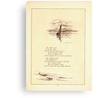 Rose Buds Virginia Gerson 1885 0015 The Merry Little Tar Canvas Print