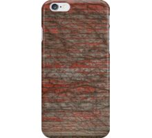 Red Garage  iPhone Case/Skin