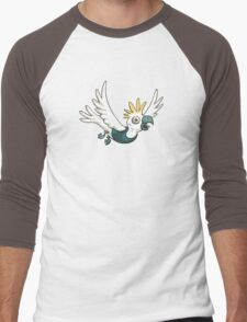 Sulphur Crested Cockatoo in a singlet Men's Baseball ¾ T-Shirt