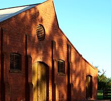 Part of Victorian History (East Loddon woolshed) by Julie Sleeman