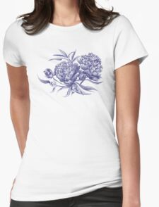 Grisaille Watercolor Peony T-Shirt