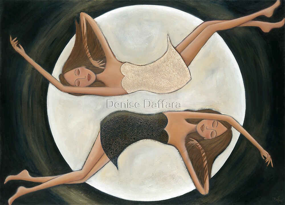 """Gemini Dreamers"" by Denise Daffara"