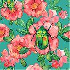 - Wild rose pattern - by Losenko  Mila