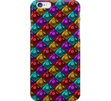 DUNGEON MASTER: 'No Damage' Pattern (Black) iPhone Case/Skin