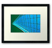 Do the Splitz - Dubai International Airport terminal Framed Print