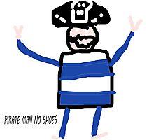 pirate man  Photographic Print