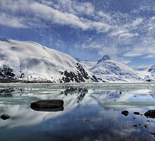 Portage Lake, Alaska by Andreas Mueller