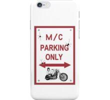 Motor Cycle Parking  iPhone Case/Skin