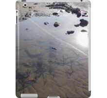 Beach Rock Pool Print iPad Case/Skin