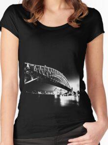 Sydney Harbour Bridge Women's Fitted Scoop T-Shirt