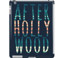 After Hollywood Blue iPad Case/Skin
