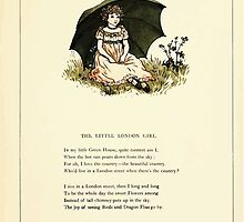 Marigold Garden Pictures and Rhymes Kate Grenaway 1900 0023 The London Girl by wetdryvac