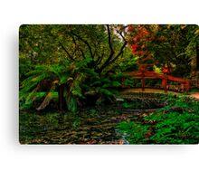 Autumn Colours at Alfred Nicholas Memorial Gardens Canvas Print