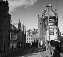 Edinburgh Candlemakers Row Mono by Alastair