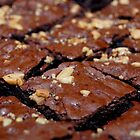 Brownies with nuts and chocolate. by walterericsy