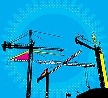 Pop-Art Construction illustration by sledgehammer