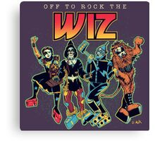 Off To Rock The Wiz Canvas Print