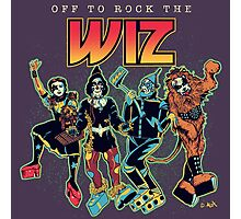 Off To Rock The Wiz Photographic Print