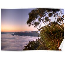 The View - Blue Mountains World Heritage Area - The HDR Experience Poster