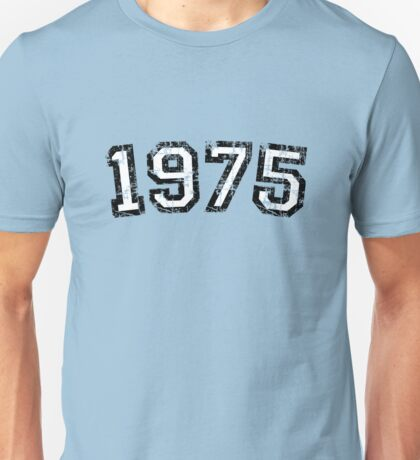 Year 1975 Vintage Birthday Unisex T-Shirt