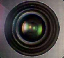 72mm canon camera len Sticker