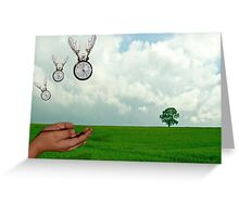 How Time Flies Greeting Card