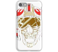 X-Wing Skull Helmet T-Shirt iPhone Case/Skin