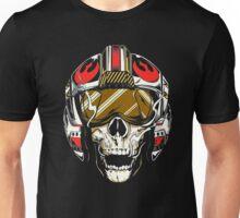 X-Wing Skull Helmet T-Shirt Unisex T-Shirt