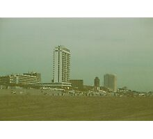 Skyline at the beach Photographic Print