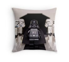 Darth Vader & Stormtroopers Throw Pillow