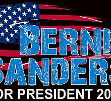 Bernie Sanders For President 2016 by ozdilh