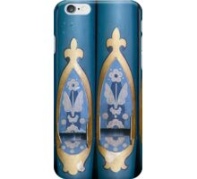 The Blue Pipes iPhone Case/Skin