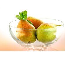 Pear's Vitamine Trio Photographic Print