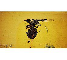 'The Road Runner' -  Last Seen Heading East Across The Desert Photographic Print