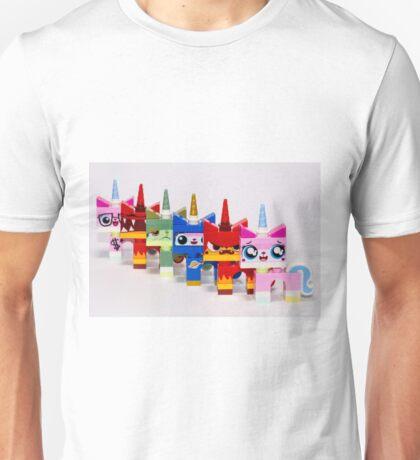 Cute-six-kitty Unisex T-Shirt